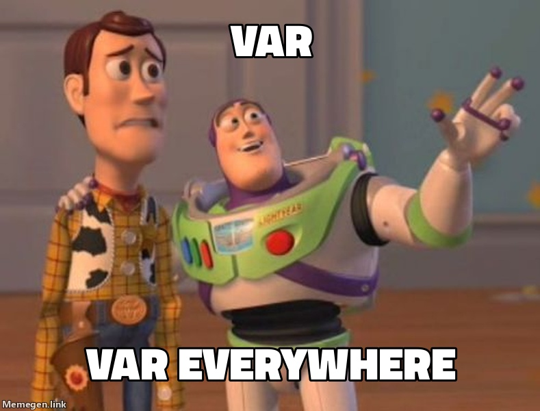 var everywhere